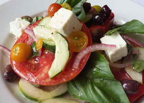 a healthy and delicious salad
